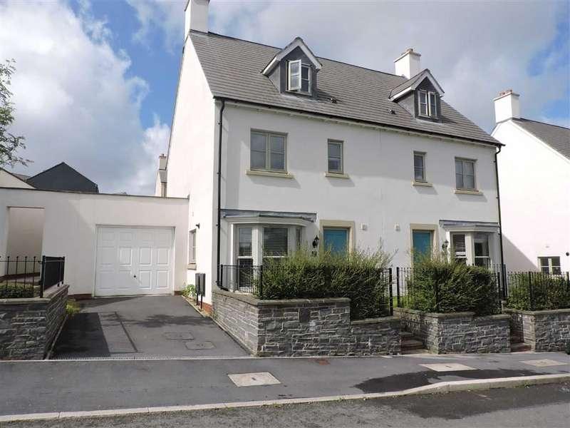 4 Bedrooms Town House for sale in Heathland Way, Llandarcy