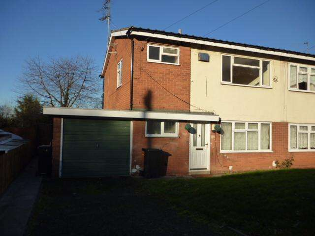 1 Bedroom Flat for sale in HARLSTONES CLOSE, AMBLECOTE, STOURBRIDGE DY8