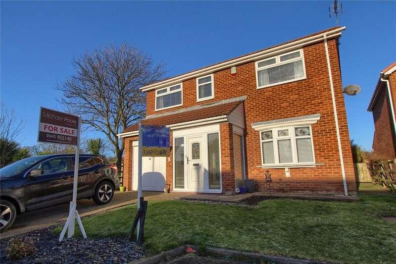 4 Bedrooms Detached House for sale in Otterington Close, Hart Village