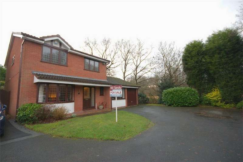 4 Bedrooms Detached House for sale in Thistle Down Close, Streetly, Sutton Coldfield, West Midlands