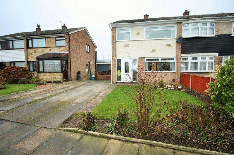 3 Bedrooms Semi Detached House for sale in Stanstead Way, Thornaby