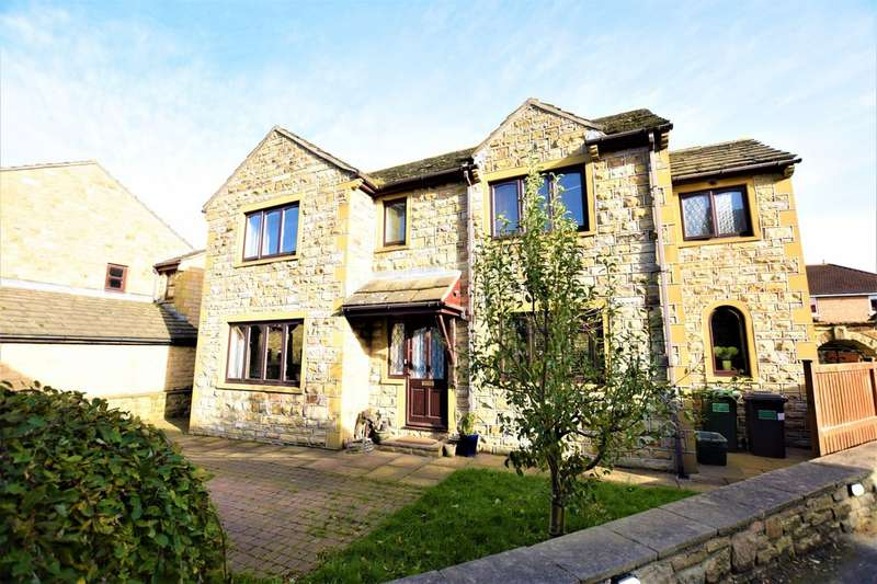 4 Bedrooms Detached House for sale in Pack Horse Close, Clayton West HD8