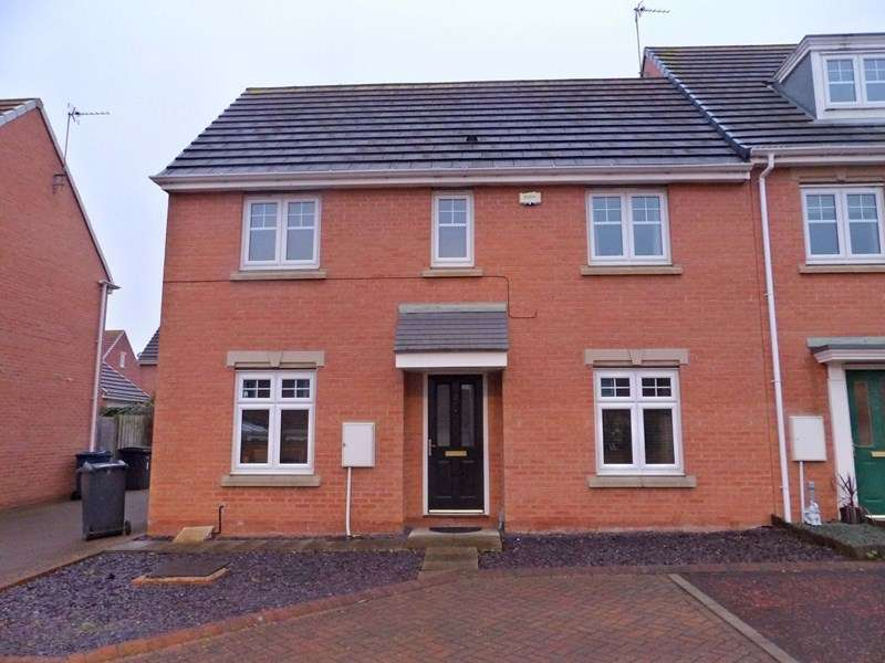 3 Bedrooms Property for sale in Burnside Close, Boldon Colliery, Boldon Colliery, Tyne and Wear, NE35 9BU