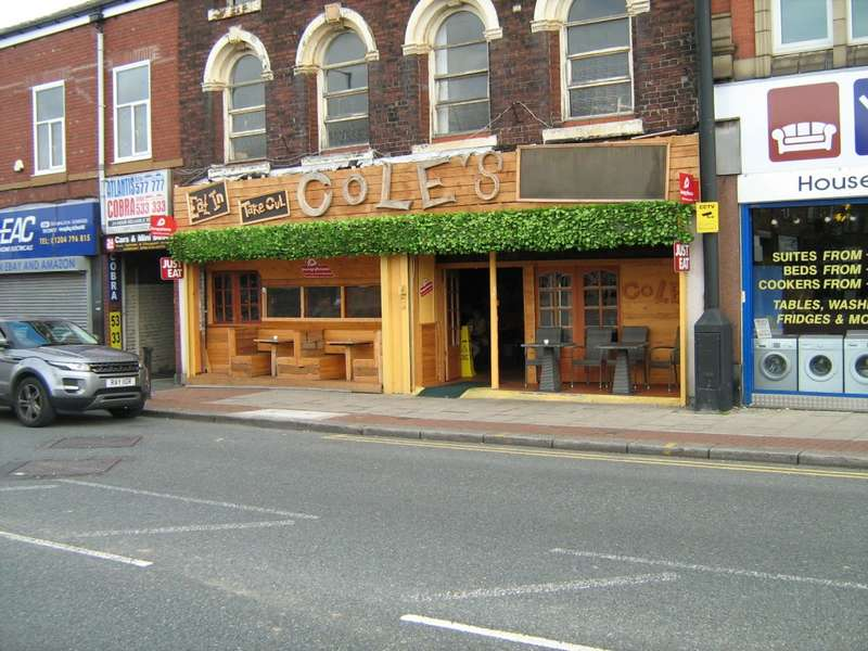 Cafe Commercial for sale in Coles Market Street, Farnworth, Bolton, BL4