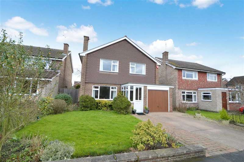 4 Bedrooms Detached House for sale in Highfield Road, Keyworth, Nottingham