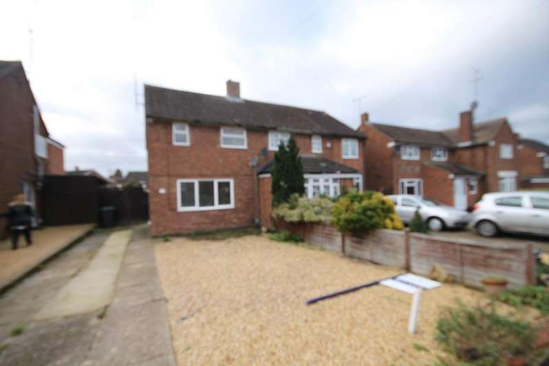 3 Bedrooms Semi Detached House for rent in Epping Way, Sundon Park, luton, LU3