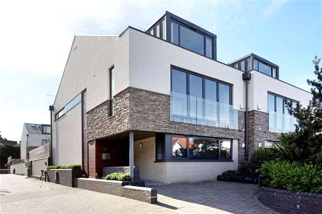 4 Bedrooms Semi Detached House for sale in Panorama Road, Sandbanks, Poole, Dorset, BH13