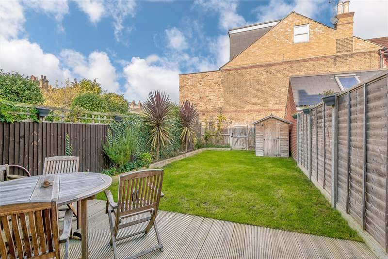 4 Bedrooms Terraced House for sale in Brookwood Road, Southfields, London, SW18
