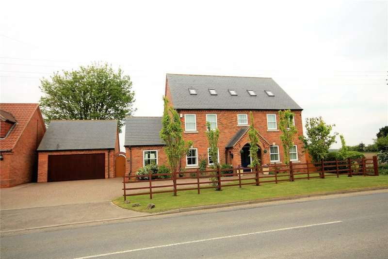 5 Bedrooms Detached House for sale in Thorpe Road, Whisby, LN6