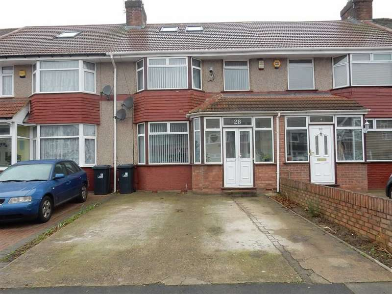 4 Bedrooms Terraced House for sale in Hurley Road, Greenford