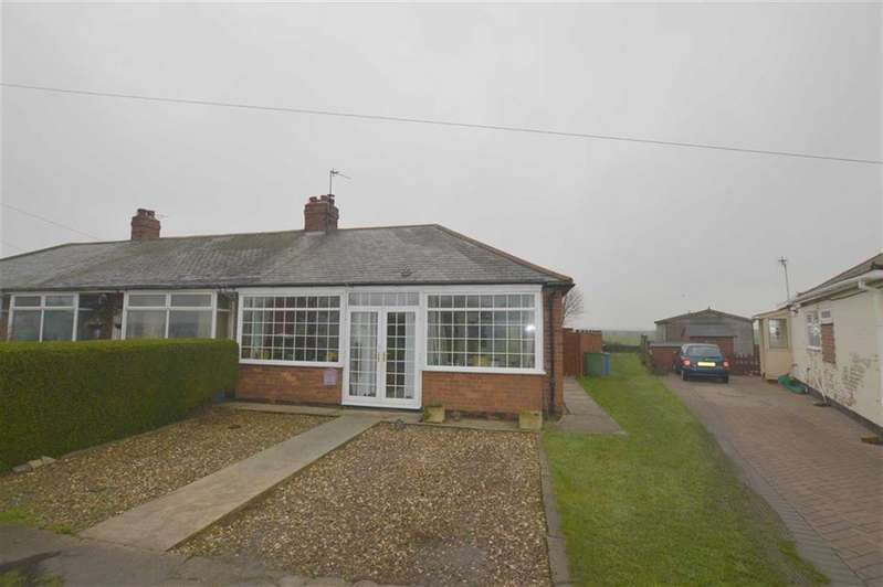 2 Bedrooms Semi Detached Bungalow for sale in Seaside Road, Aldbrough, East Yorkshire