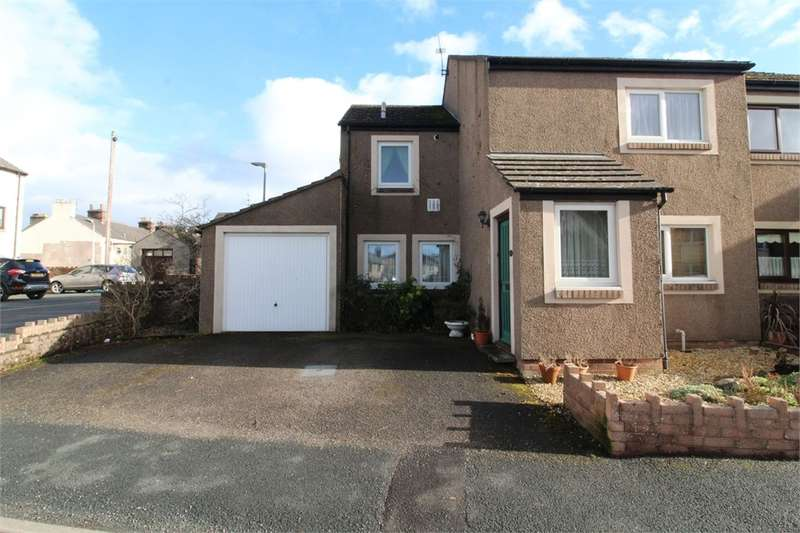 3 Bedrooms Semi Detached House for sale in CA11 9BE Norfolk Place, Penrith, Cumbria