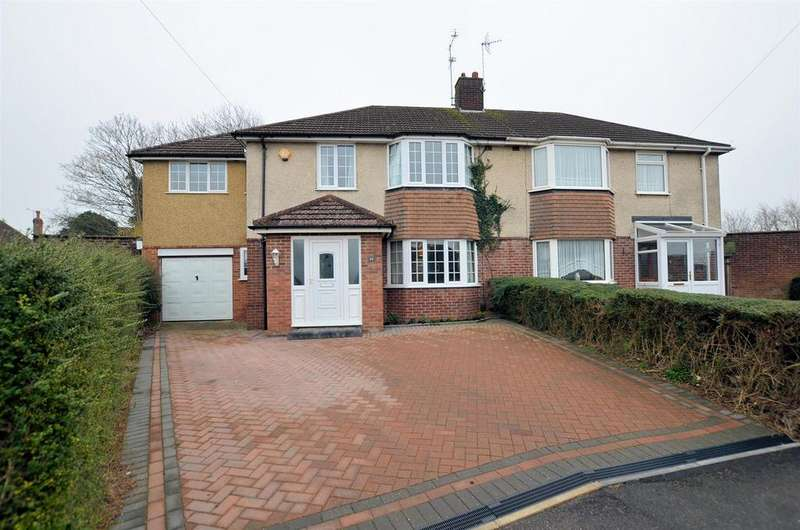 5 Bedrooms Semi Detached House for sale in Beverley Road, Tilehurst, Reading