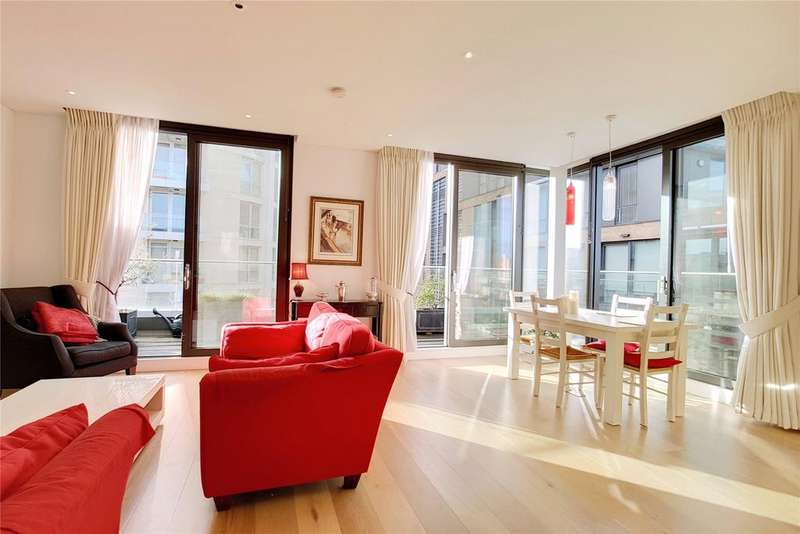 2 Bedrooms Penthouse Flat for sale in Plaza Gardens, London, SW15