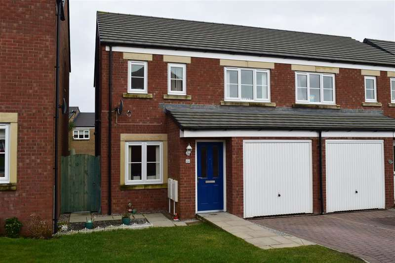 3 Bedrooms Semi Detached House for sale in Church Meadows, Great Broughton, Cockermouth