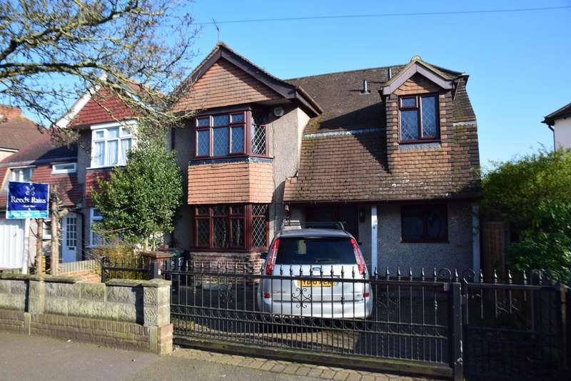 5 Bedrooms Semi Detached House for sale in Lingfield Avenue, Dartford, DA2
