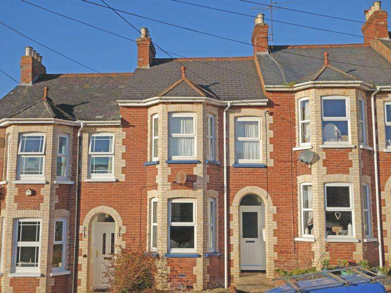 3 Bedrooms Terraced House for sale in Hill View, Sidmouth