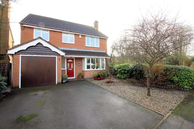 4 Bedrooms Detached House for sale in Lockton Close, Ashby-de-la-Zouch