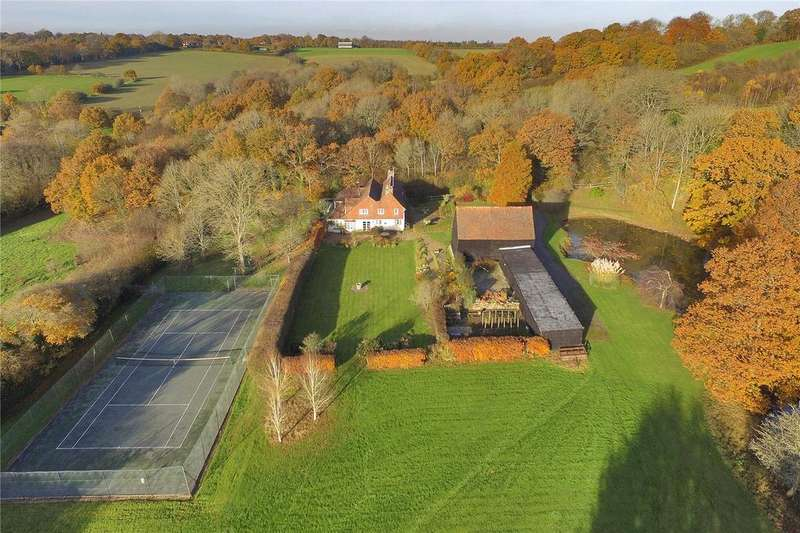 5 Bedrooms Unique Property for sale in Holtye, Cowden, Edenbridge, Kent, TN8