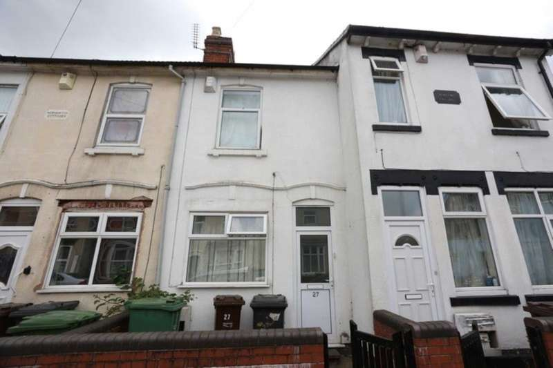 3 Bedrooms Terraced House for sale in 27 Paget Street, Wolverhampton, West Midlands WV1 4AR