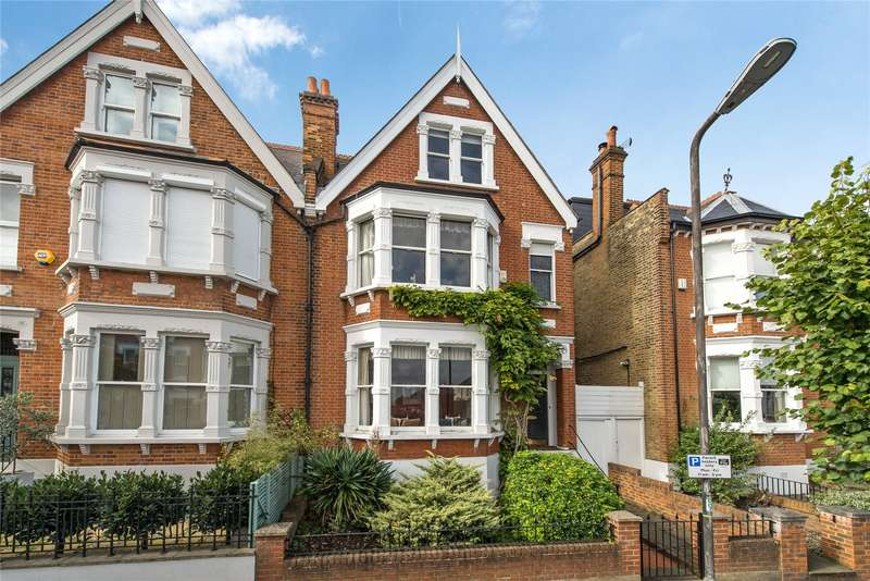 5 Bedrooms Semi Detached House for sale in Kenilworth Avenue, Wimbledon, London, SW19