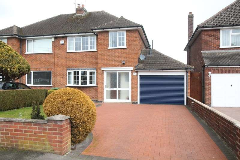 3 Bedrooms Semi Detached House for sale in Shakespeare Drive, Shirley, Solihull