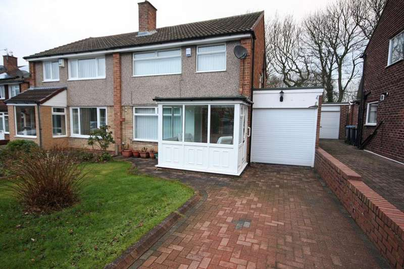 3 Bedrooms Semi Detached House for sale in Danelaw, Great Lumley, Chester-le-Street DH3 4LU