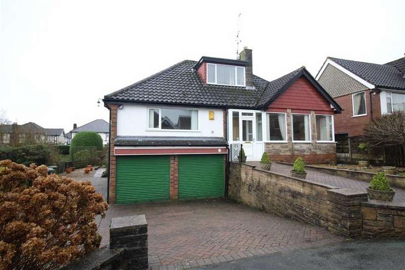 3 Bedrooms Detached Bungalow for sale in Martlet Avenue, Disley, Stockport, Cheshire