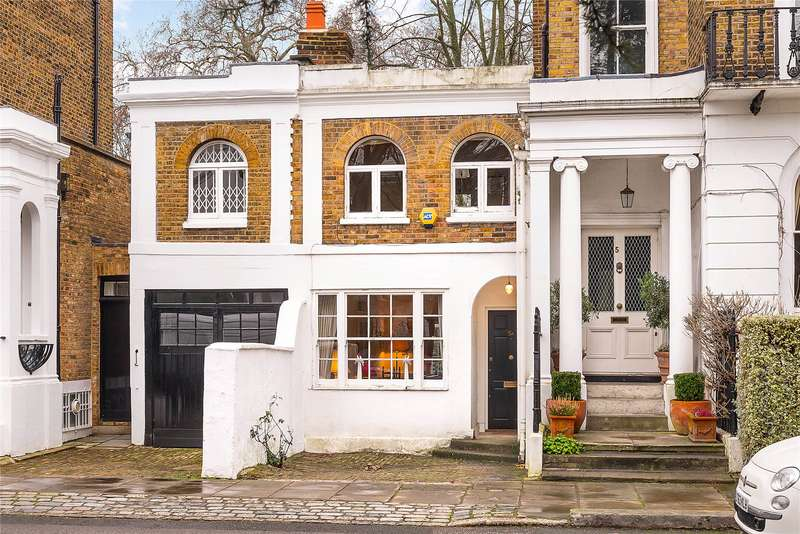 2 Bedrooms Terraced House for sale in Crescent Grove, Clapham, London, SW4