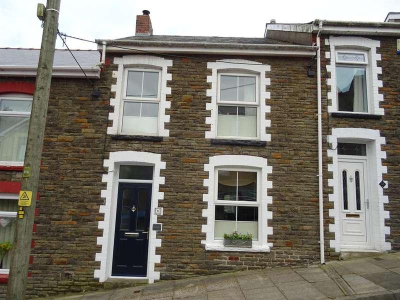 3 Bedrooms Terraced House for sale in Caedu Road, Ogmore Vale, Bridgend, CF32 7DR