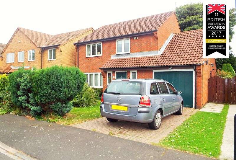 3 Bedrooms Property for sale in Moor Park Court, North Shields