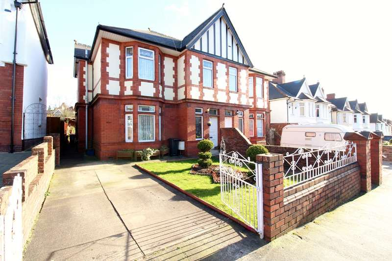 4 Bedrooms Semi Detached House for sale in St Julians Avenue, Newport, NP19