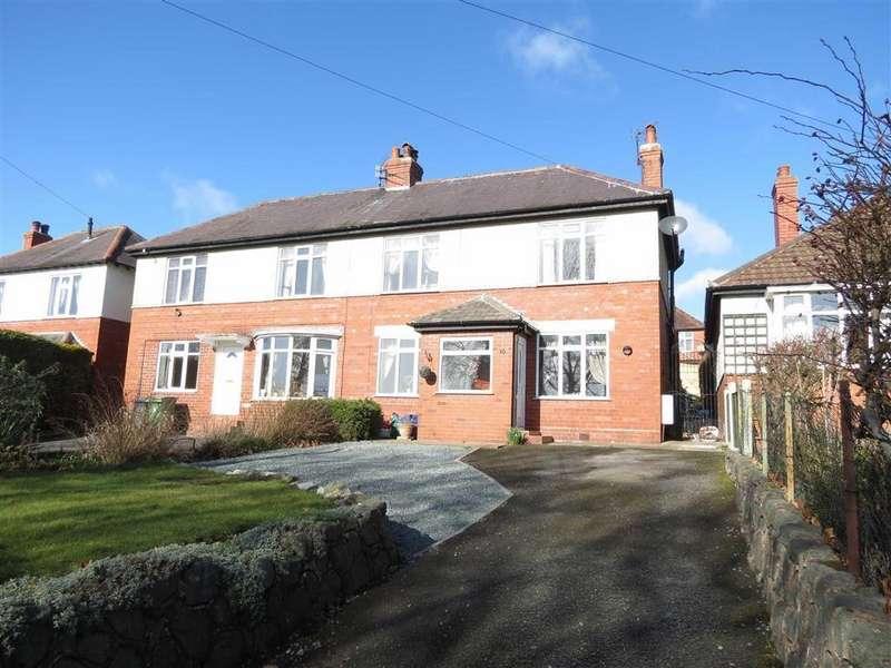3 Bedrooms Semi Detached House for sale in Upper Road, Belle Vue, Shrewsbury, Shropshire