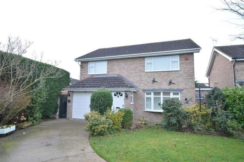 4 Bedrooms Detached House for sale in 14 Woodlark Close, Sundorne Grove, Shrewsbury, SY1 4TN