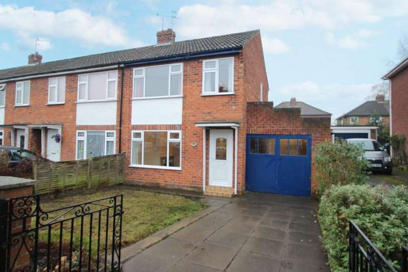 3 Bedrooms End Of Terrace House for sale in DERWENT ROAD, YORK, YO10 4HQ