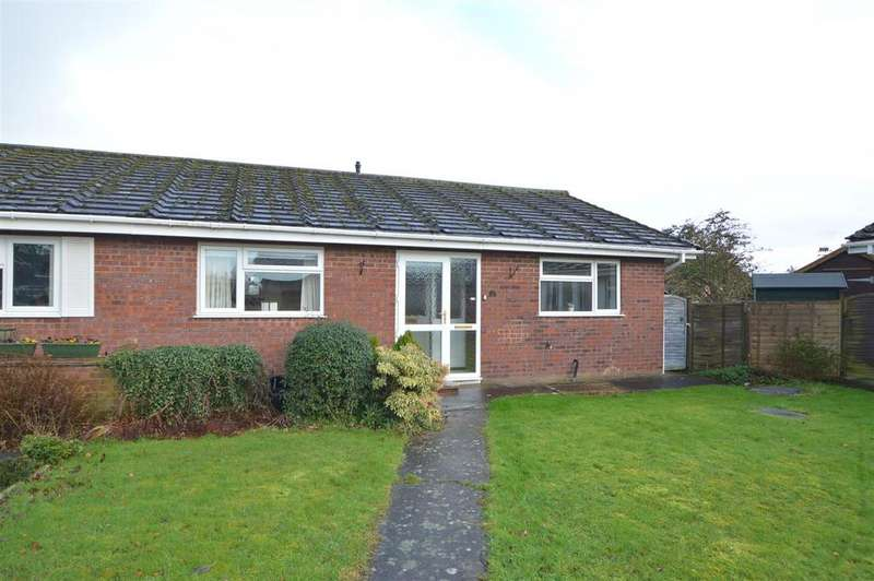 2 Bedrooms Semi Detached Bungalow for sale in 10 Salcombe Drive, Shrewsbury, SY2 6SH