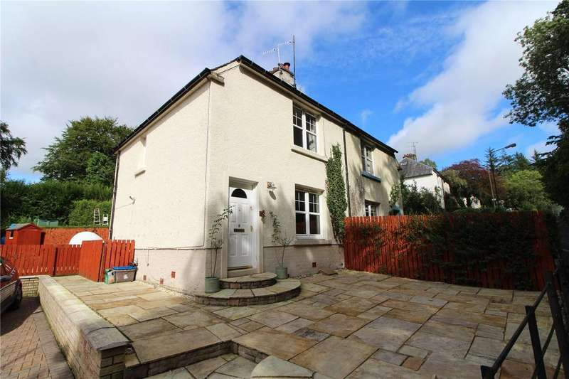 2 Bedrooms Semi Detached House for sale in Station Road, Blanefield