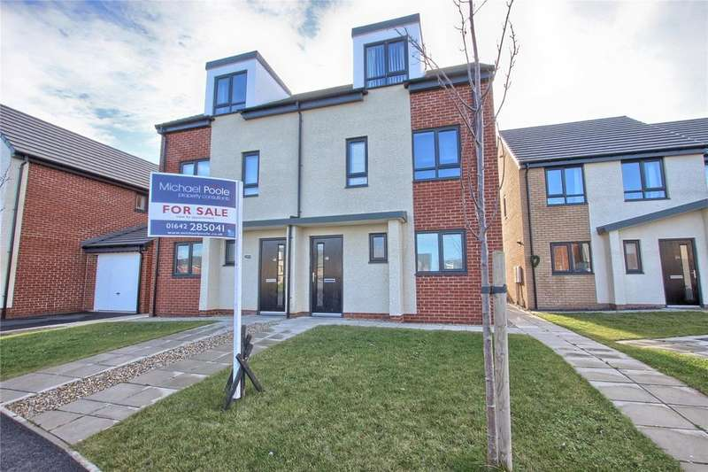 3 Bedrooms Semi Detached House for sale in Goldrill Gardens, Redcar