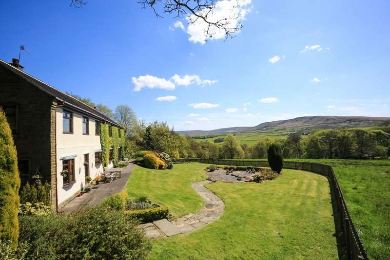 6 Bedrooms Detached House for sale in Castle House, Todmorden, OL14