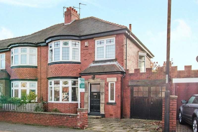 3 Bedrooms Semi Detached House for sale in Jesmond Dene Road, Jesmond, Newcastle Upon Tyne, Tyne And Wear