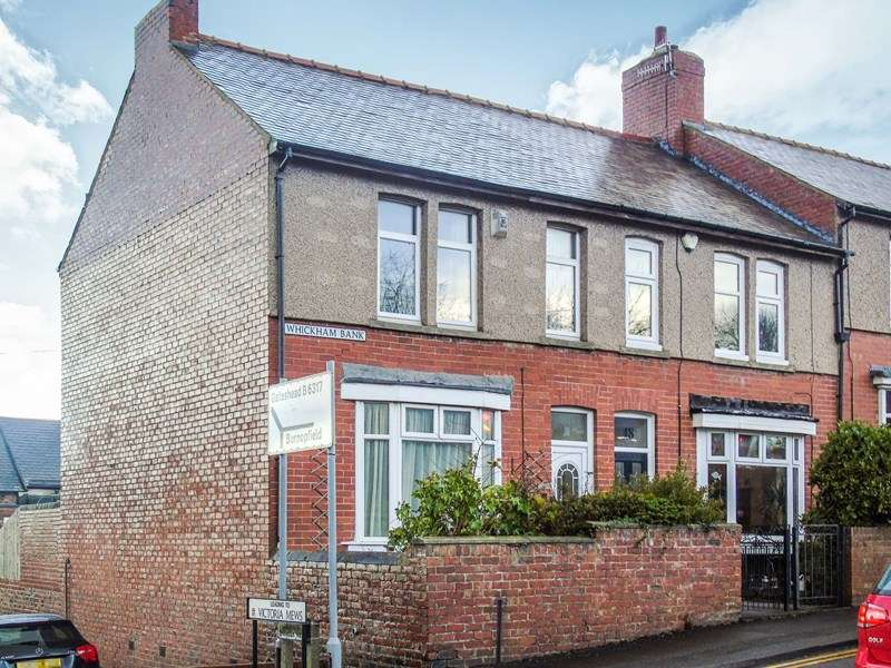 3 Bedrooms Property for sale in Whickham Bank, Whickham, Newcastle upon Tyne, Tyne and wear, NE16 4AJ
