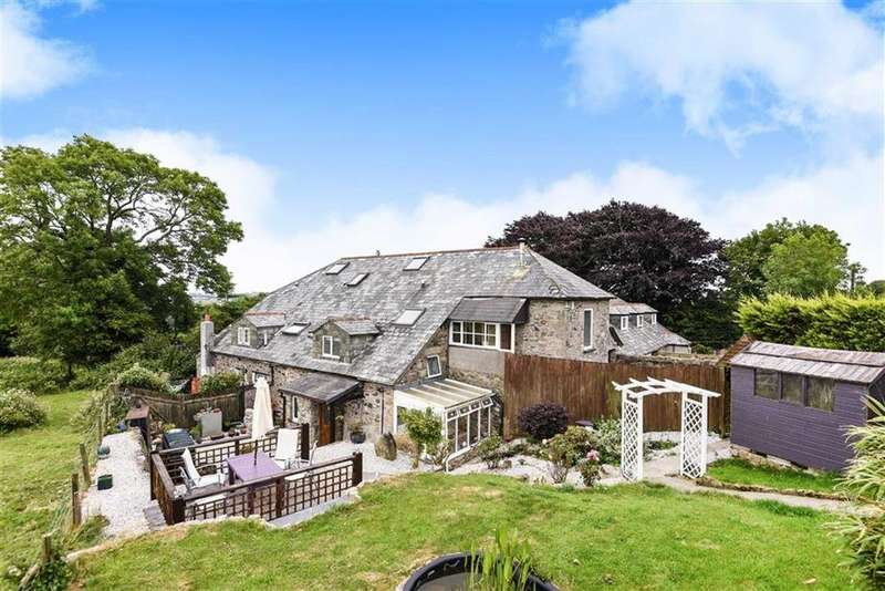 2 Bedrooms Semi Detached House for sale in Tregonhay Cottages, Upton Cross, Liskeard, Cornwall, PL14