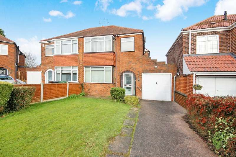 3 Bedrooms Semi Detached House for sale in 7 SANDFORD RISE, Claregate, Wolverhampton WV6