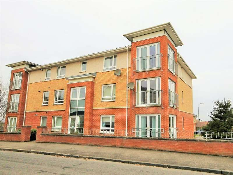 2 Bedrooms Flat for sale in Whinnyburn Court, Motherwell