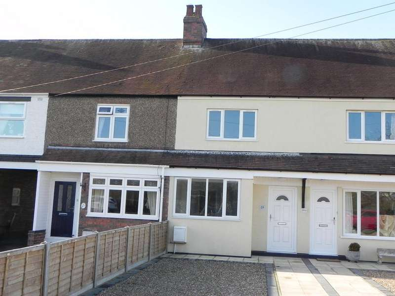2 Bedrooms Terraced House for sale in Fazeley Road, Tamworth B78 3JN