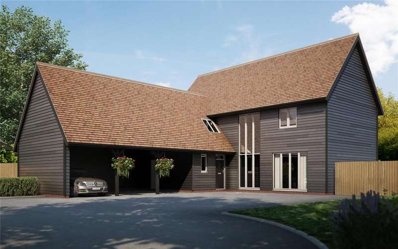 4 Bedrooms Detached House for sale in Malthouse Lane, Meath Green Lane, Horley, Surrey, RH6