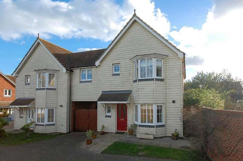 4 Bedrooms Link Detached House for sale in Pochard Crescent, Stillwater Park, Herne Bay