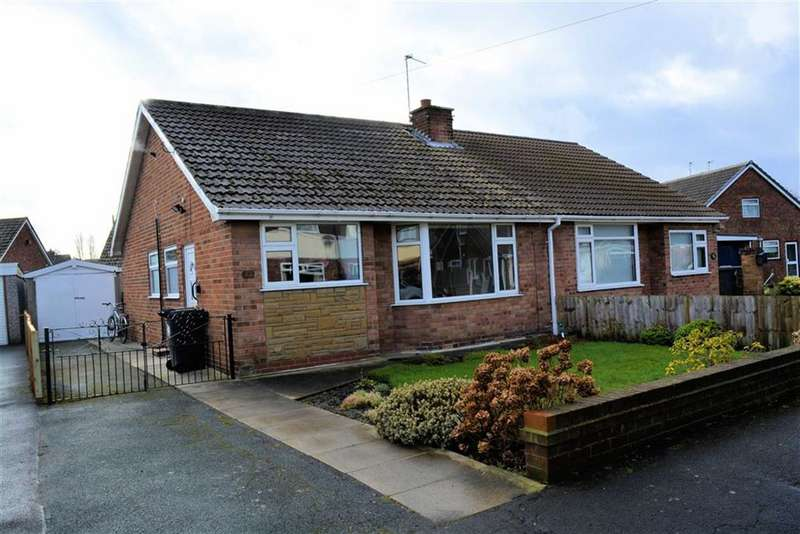 2 Bedrooms Semi Detached Bungalow for sale in Fairway, Selby, YO8