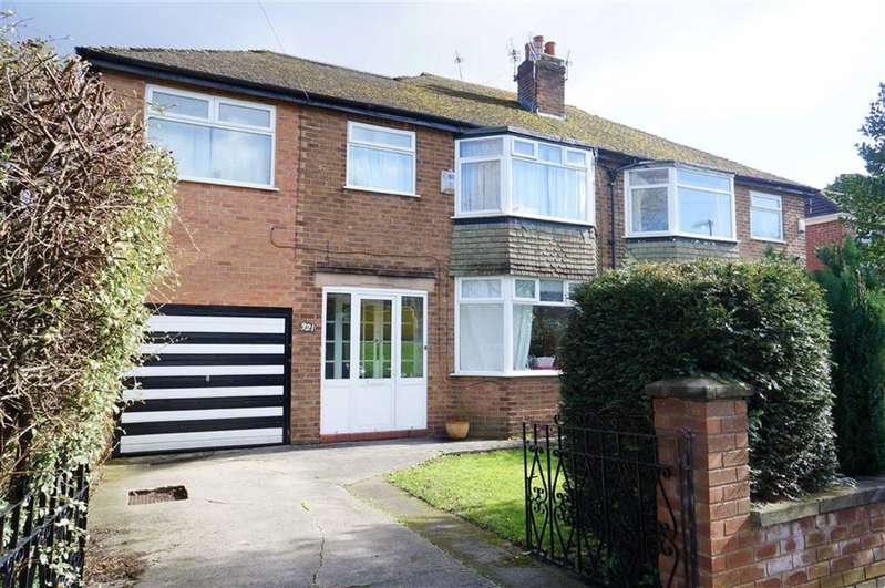 4 Bedrooms Semi Detached House for sale in Withington Road, Chorlton, Manchester, M21