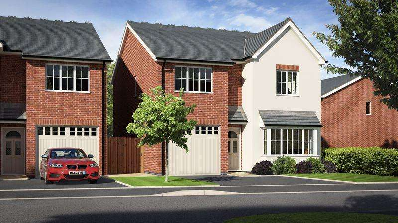 4 Bedrooms Detached House for sale in Plot 30, Meadow Dale, Llanymynech